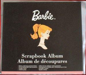 Barbie Retro Ponytail Pink Scrapbook Album New in Box