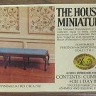 Xacto House of Miniatures Chippendale Day Bed 40043 Unopened 1980