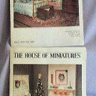 House of Miniatures Catalogs Fall Winter Xmas 1982