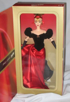 Mattel Barbie Doll Avon Winter Splendor Bonde 1998 MIB