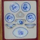 Scale 1:12 German Reutter Porzellan Doll House Dish/Tea Set MIB
