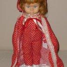 Vintage Mattel Dee Dee Doll Vintage Polka Dot Pajama Set 1964  VGC