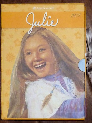 American Girl Julie Softcover Book Collection 6 Books in case EXC