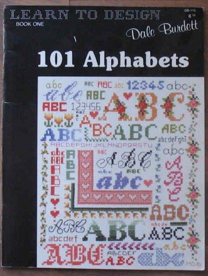 Cross Stitch X-Stitch Learn to Design Book Book 1 101 Alhabets