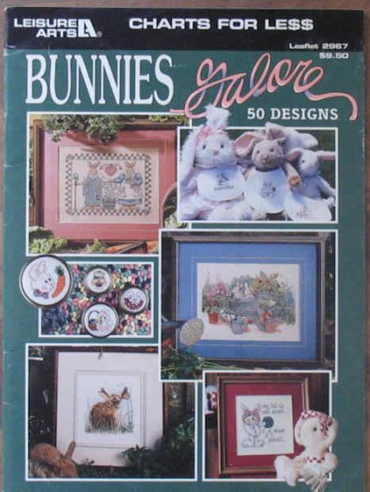 Paula Vaughan's Bunnies Galore 50 Designs Charts for Less