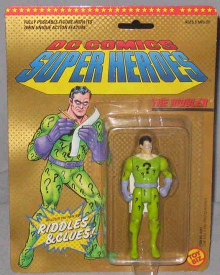 Toy Biz DC Super Heroes The Riddler 1989 MOC