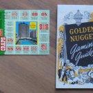 Las Vegas Postcard Booklet Sahara Golden Nug 1961 1949