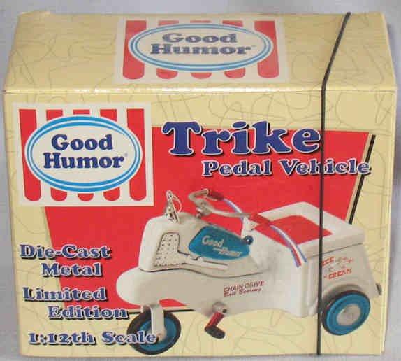 Good Humor Pedal Vehicle Xonex 1998 1:12 Scale MIB