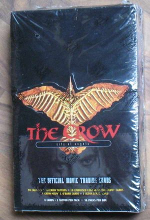 The Crow City of Angels Official Movie Trading Cards Factory Sealed 1996