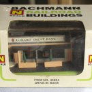 Bachman N Scale Railroad Drive-in Bank Building NIB