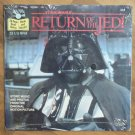 Star Wars Return Of The Jedi 33 1/3 RPM Record And Book 1983 MIP