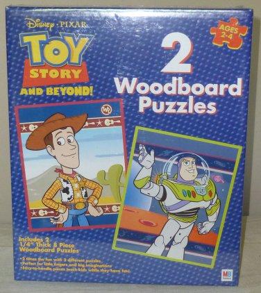 Disney Toy Story Wood Puzzles Set of 2 NIB 2003