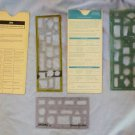 Vintage IBM Flow charting and Diagramming Templates Extra