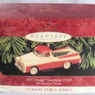 Hallmark 1930 Cadillac Vintage Roadster Ornament NIB 2001
