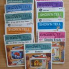Vintage Show N Tell Picturesound Programs Record and Picture Tapes Lot of 11