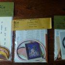 Vintage Quilling Kits Barnyard Animals Pig, Rooster, Mama Hen 1970's NIP