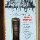Vintage Little Rascals Our Gang Buckwheat LCD Quartz Flip-it Watch
