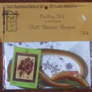 "Vintage 1977 Quill Art Quill Kit #764 Fall Harvest Bouquet  6 X 8"" NIP"