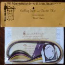 Vintage 1975 Quill Art Quill Kit #732 Quilling Quote and Border Kit Pastel NIP