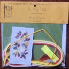 Vintage 1978 Quill Art Quill Kit #790 Spider Mums and Orange Daisies NIP