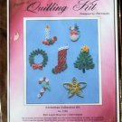 Quilling Kit Pat Caputo #3165 Christmas Collection Kit Ornaments NIP
