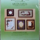 Lake City Craft Designs by Malinda #202  Floral Borders kit  1992 NIP