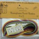 Vintage 1976 Quill Art Quill Kit #757 Pennsylvania Dutch Verses and Borders NIP