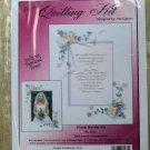Paplin Quilling Floral Border Kit #3163 with Mat for framing Keepsakes NIP