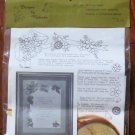 Vintage Designs by Malinda #231  Wedding Invitation with Borders Ivory NIP