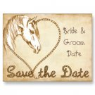 Set of 50 WESTERN Save The Date Wedding POSTCARDS kjsweddingshop