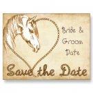 Set of 100 WESTERN Save The Date Wedding POSTCARDS kjsweddingshop