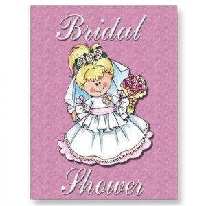 Set of 10 Bridal Shower Invitations POSTCARDS kjsweddingshop