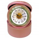Daisy Theme Bridesmaids Gift Pink Travel Jewelry case CLOCK 18571736 kjsweddingshop