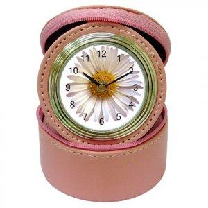 Daisy Theme Bridesmaids Gift Pink Travel Jewelry case CLOCK 18571736 kjsweddingshop