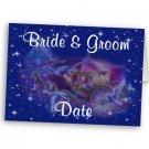 Set of 100 Princess Wedding INVITATIONS Envelopes Included kjsweddingshop