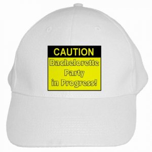 Caution Sign  Bachelorette Party Baseball Hat, Cap Bridal Party gifts 19461365 kjsweddingshop