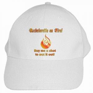 Bachelorette on Fire Party Baseball Hat, Cap Bridal Party gifts 19461376 kjsweddingshop
