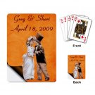 Wedding favors Deck of Custom Playing Cards with Bride Groom kjsweddingshop