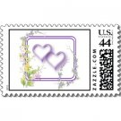 Wedding Matching POSTAGE STAMPS Wild Flowers Theme sheet of 20, 44 cent stamps kjsweddingshop