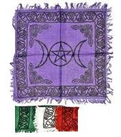 "18"" Rayon Triple Goddess Altar Cloth"
