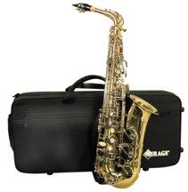 Deluxe Eb alto sax with case