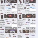 PLD52MU AM FM-MPX dvd vcd cd mp3 disc player  2.5 LCD screen