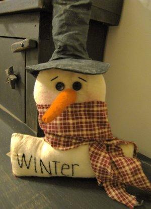 Snowman Sitter