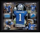 Custom Detroit Lions  Action Print Framed and Personalized
