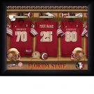 Florida St. Seminoles Custom Jersey Print With Your Name