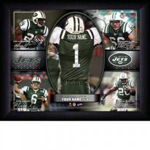 Custom New York Jets  Action Print Framed and Personalized