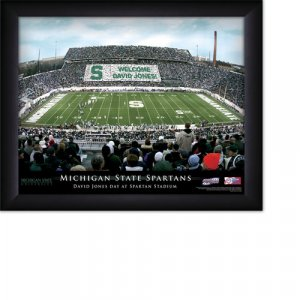 Michigan State Spartans Stadium Print With Your Name