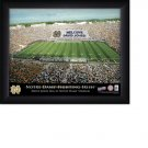 Norte Dame Fighting Irish Stadium Print With Your Name