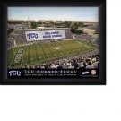 Texas Christian University Horned Frogs Stadium Print With Your Name