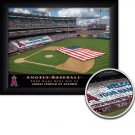 Anaheim Angels Stadium Print With Your Name